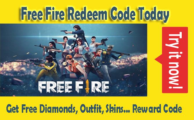 Garena Free fire, FF Garena, Diamonds, Skins, Outfit, Free Rewards daily 2021 August, September, October