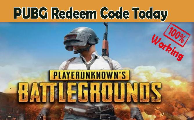 PUBG Redeem Code Today, PUBG Global Redeem Code, PUBG KR Redeem Code, Free Glacier Skin, UC, Rename card, Room Card, Legendary outfit, Gun SKin, Premium Creates, PC, Laptop