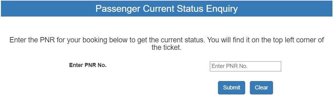 pnr status checker, indianrailway pnr status, how to check pnr status